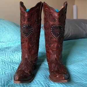 Corral Distressed Vintage Leather Boots